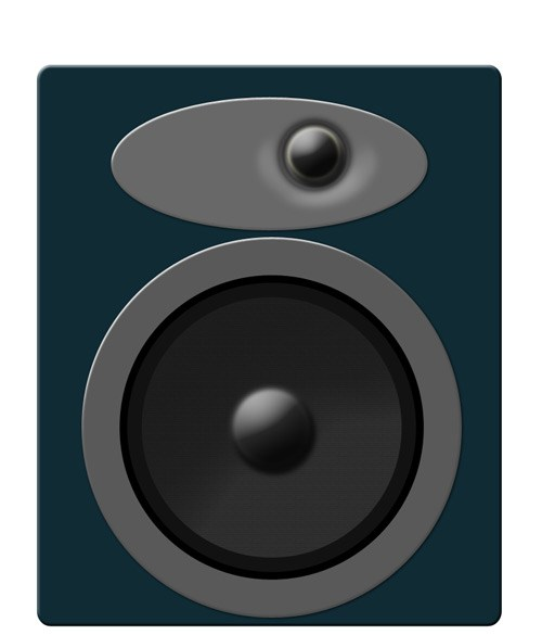 500x585 Drawing A Speaker In Photoshop