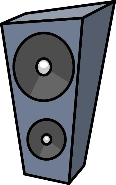372x591 Cartoon Speaker Clip Art Free Vector In Open Office Drawing Svg