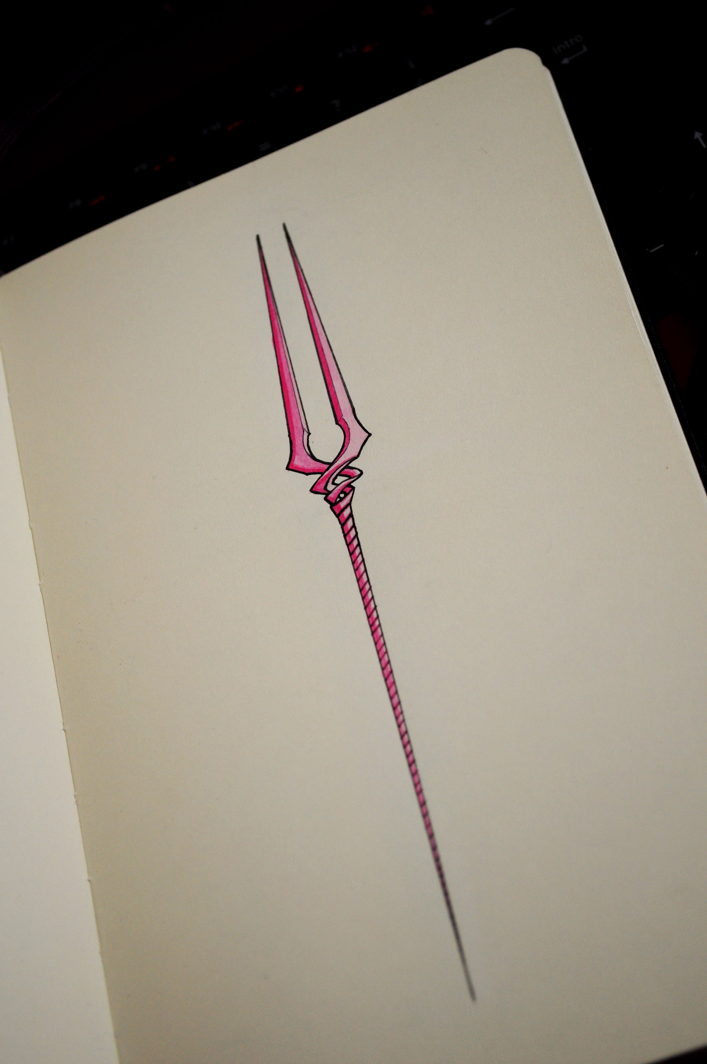 2848x4288 Spear Of Longinus (My Drawing) Evangelion