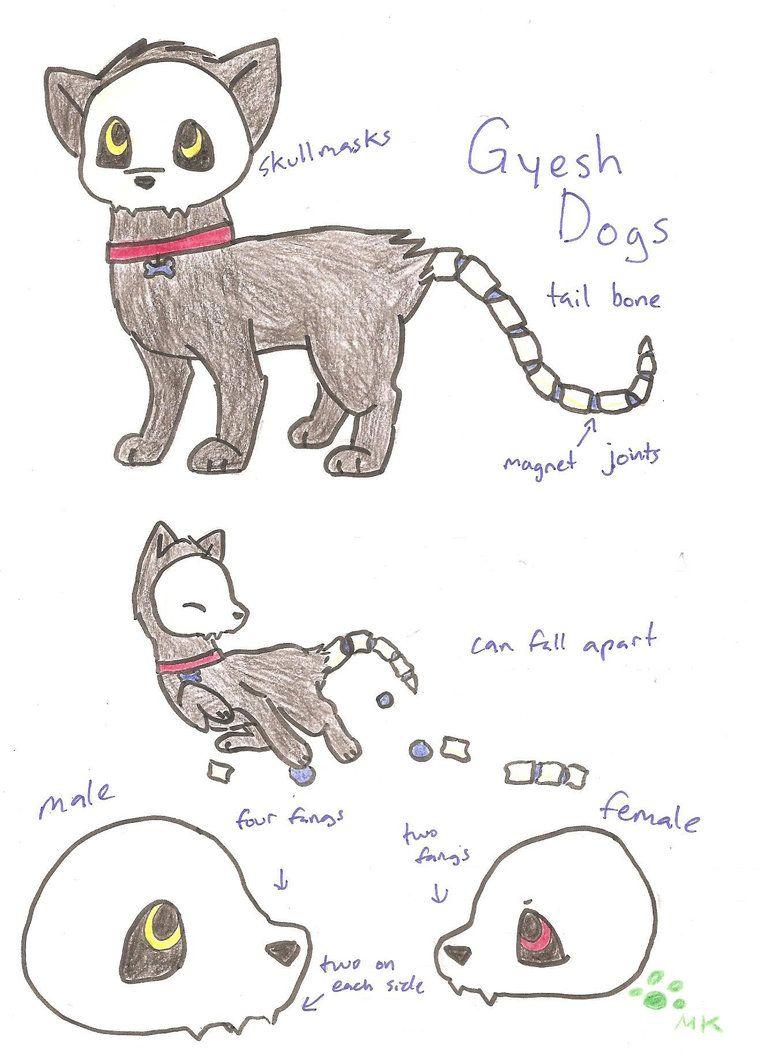 759x1053 New Species Gyesh Dog By On @