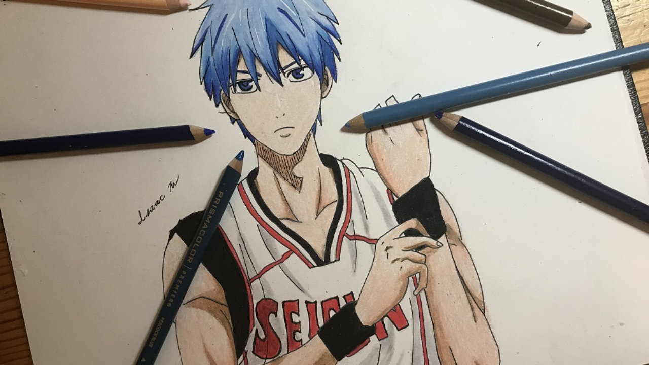 1280x720 Speed Drawing Anime How To Draw Tetsuya From Kuroko No Basket