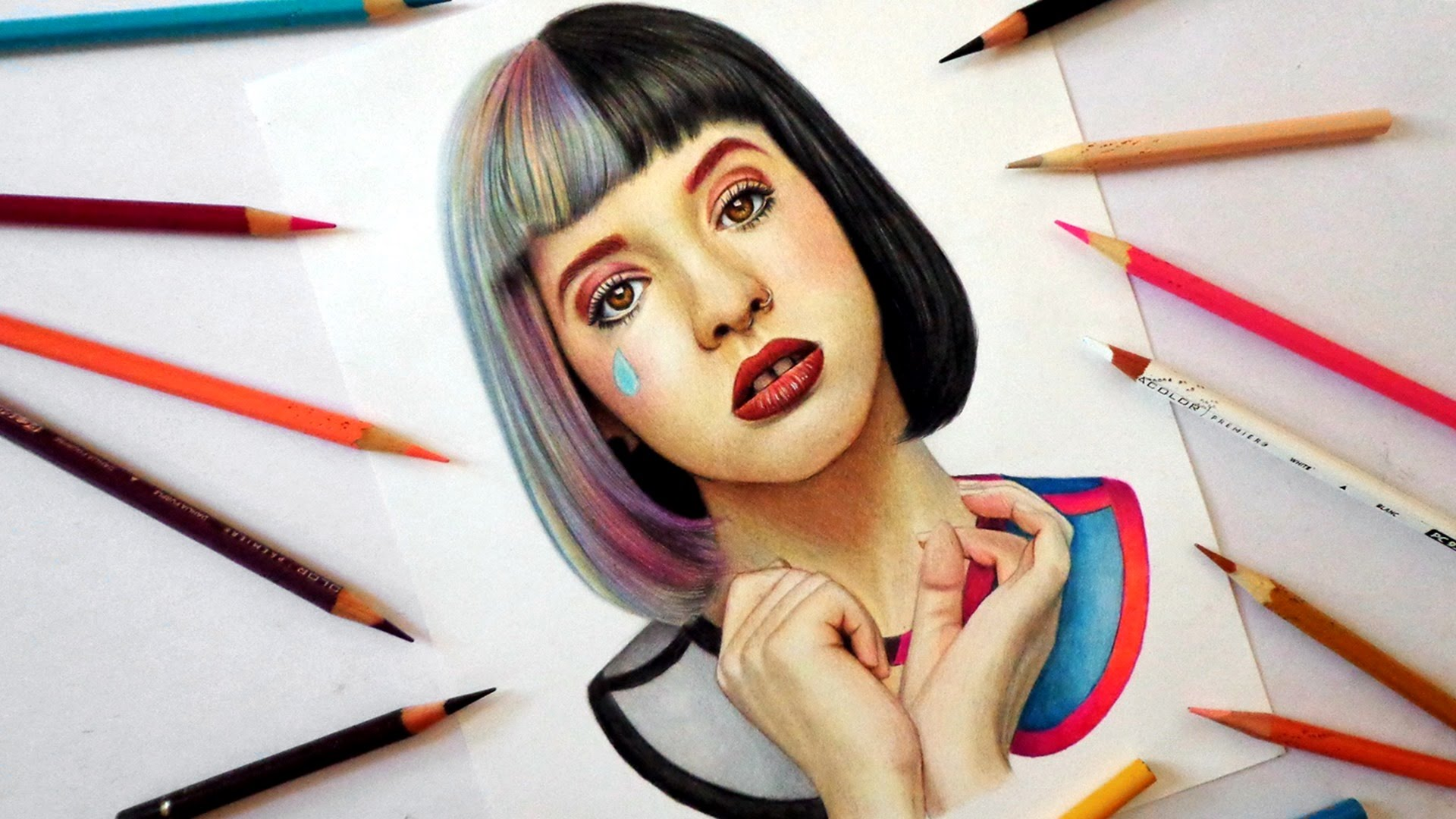 1920x1080 Speed Drawing Melanie Martinez