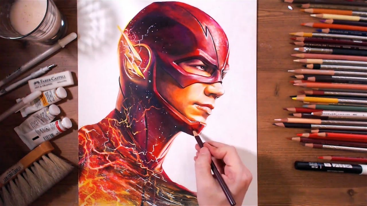 1280x720 The Flash Barry Allen (Grant Gustin)