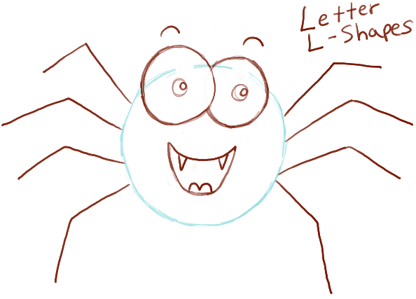 594x427 How To Draw Cute Cartoon Spider With Easy Steps For Preschoolers