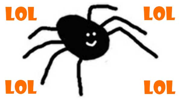 600x333 An Oldy But A Goody! Spider Email Drawing Offered As Bill Payment