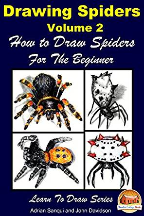 296x445 Drawing Spiders Volume 2
