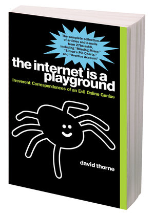 300x420 Humorist's Spider Crawls The Web, Bringing Fame And A Book Deal