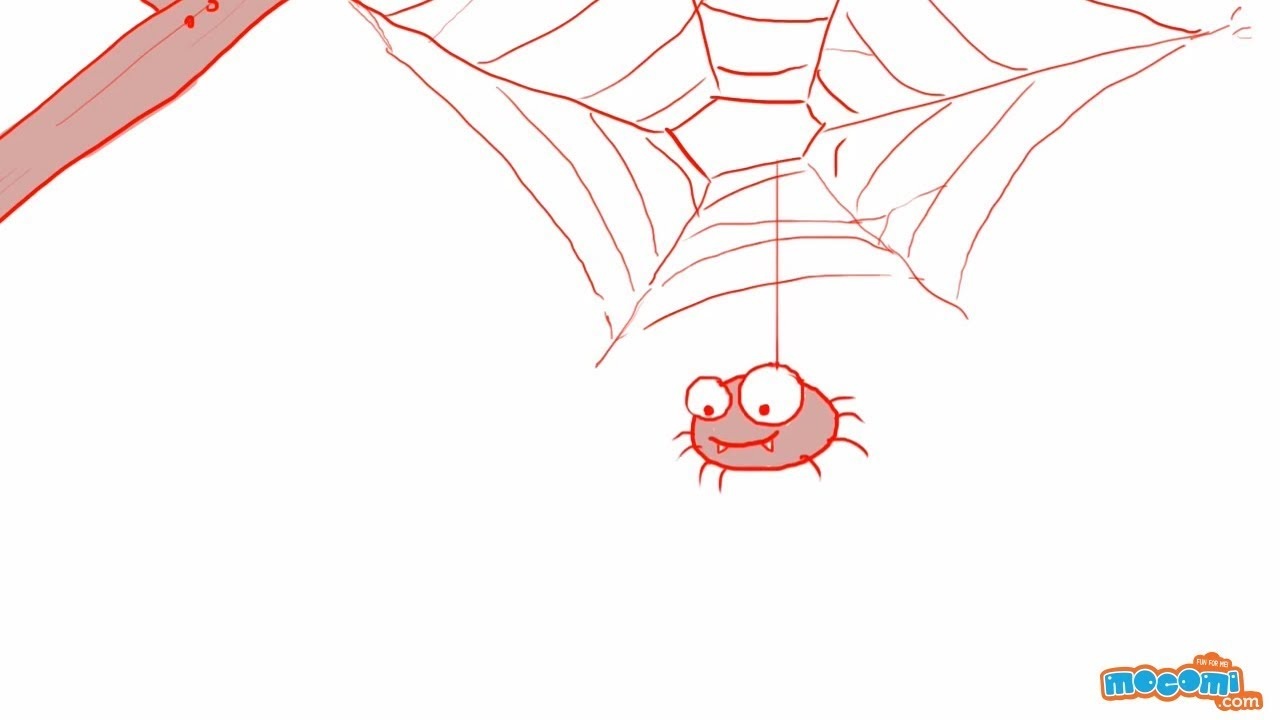 1280x720 How To Draw A Spider