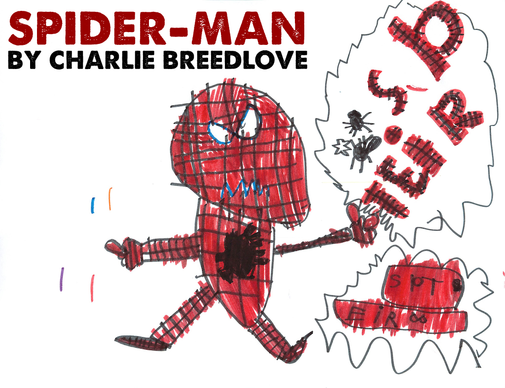 1024x787 Spider Man 5 Minute Marvels Spiderman Drawings For Kids