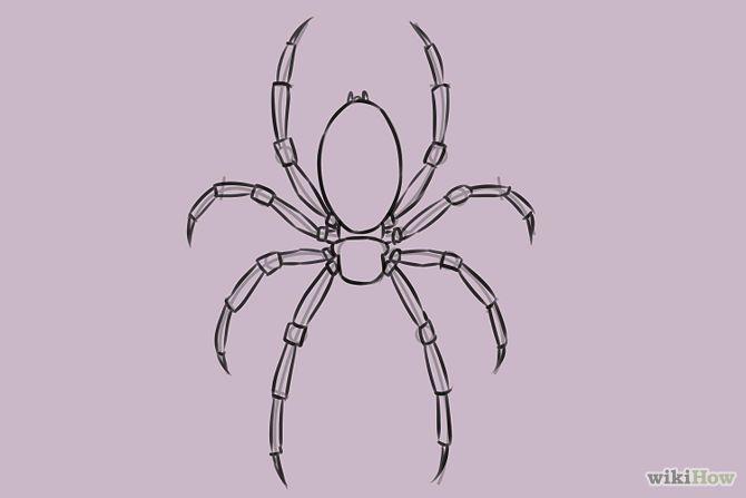 670x447 Draw A Spider Spider, Artsy And Artsy Fartsy