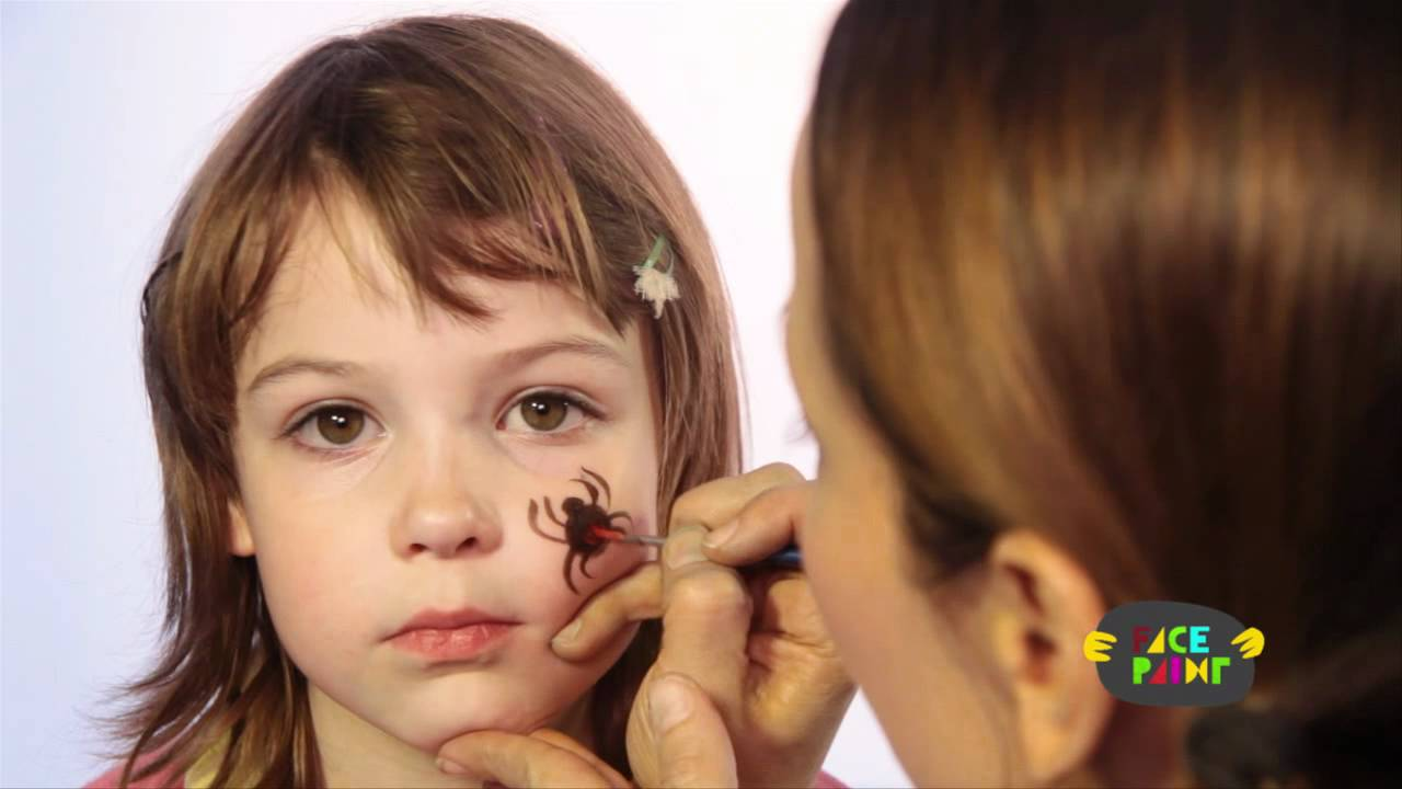 1280x720 Spider Face Painting Tutorial