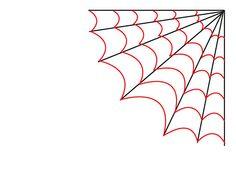 236x176 Spider Web Drawing Craft Ideas Spider, Spider Web