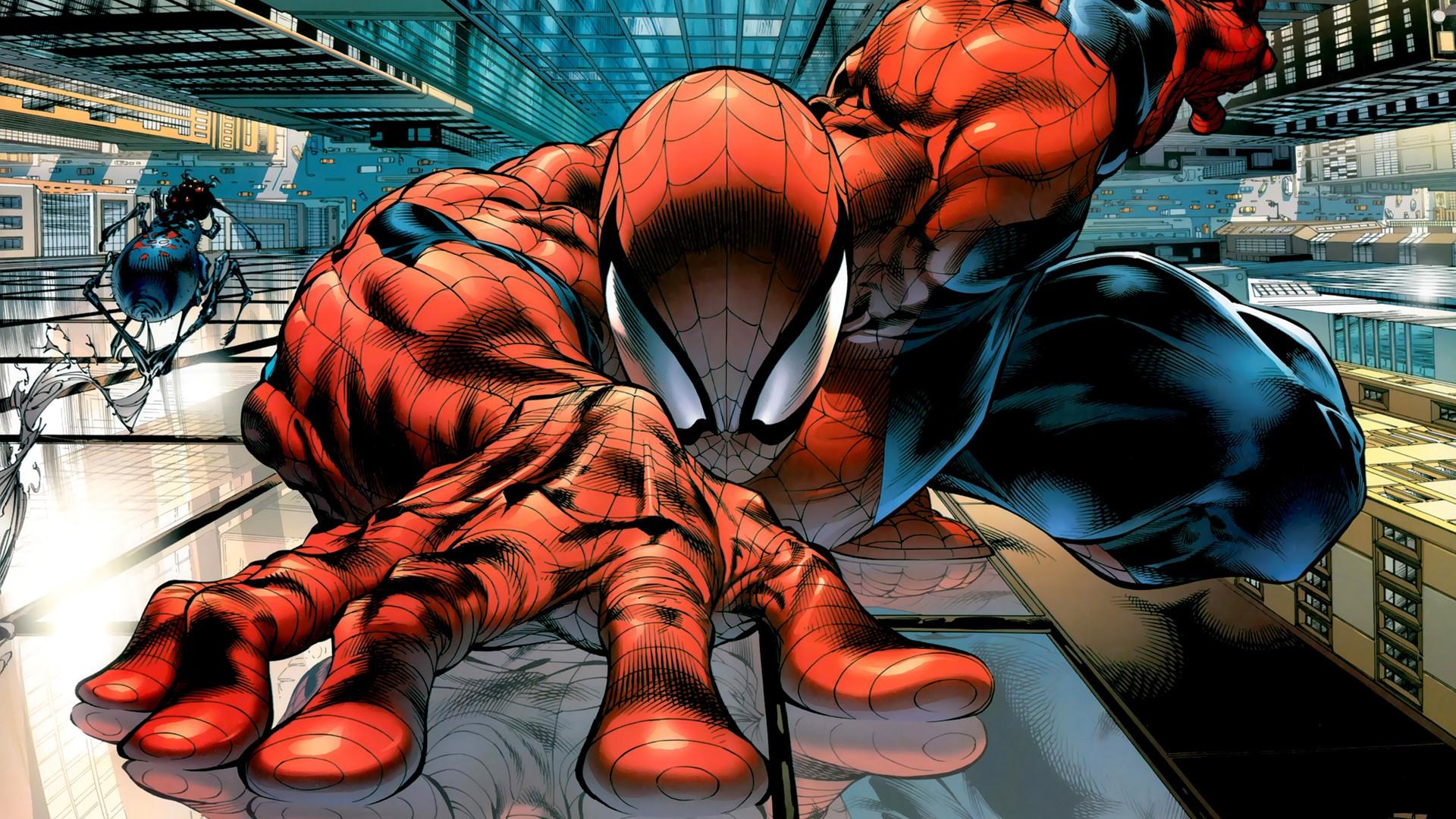 Beautiful Wallpaper Marvel Lizard - spider-man-comic-drawing-63  You Should Have_113615.jpg