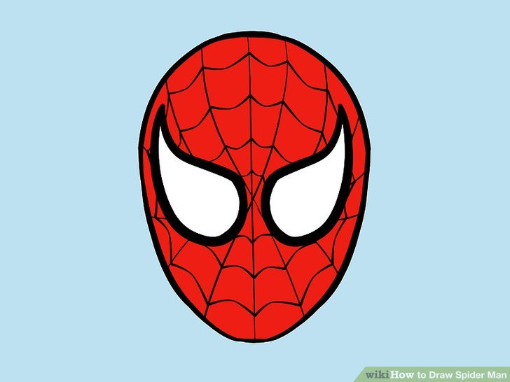 728x546 4 Ways To Draw Spider Man