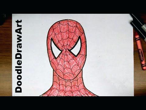 480x360 Spiderman Drawings For Kids Drawing For Kids Inspired Definition
