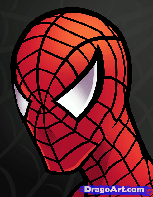 491x632 How To Draw Spiderman Easy Spider Man, Pp