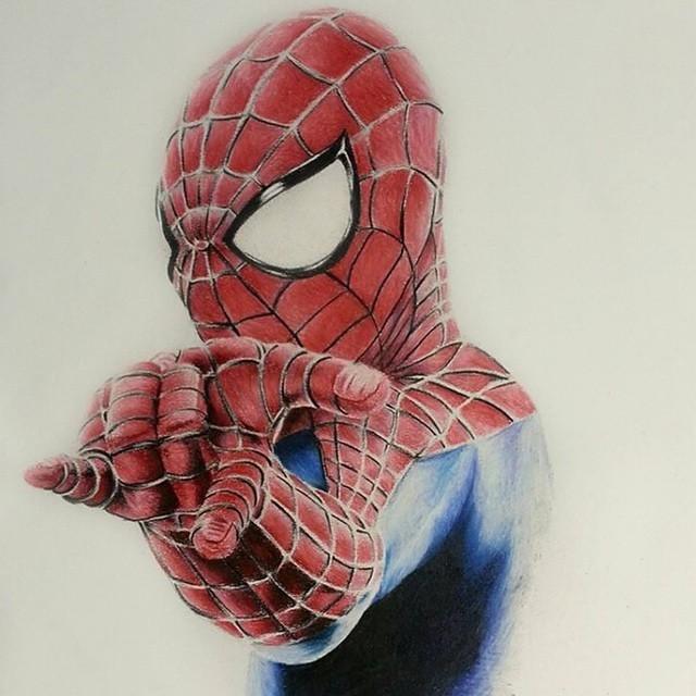 640x640 Misterbananamamba Amazing Spider Man Pencil Drawing. Sized