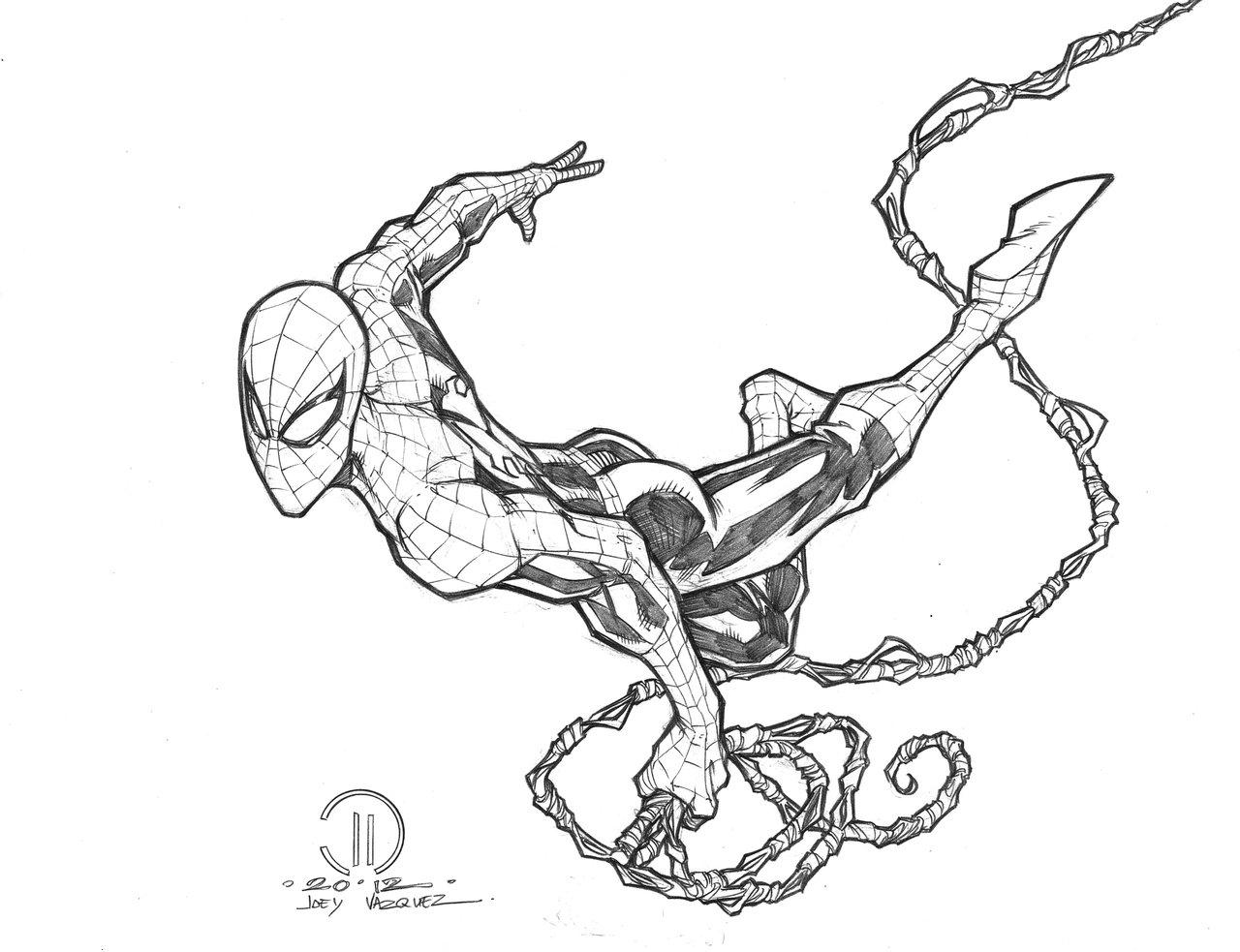 1280x983 Pencil Drawing Of Spiderman Spiderman Realistic Art, Pencil