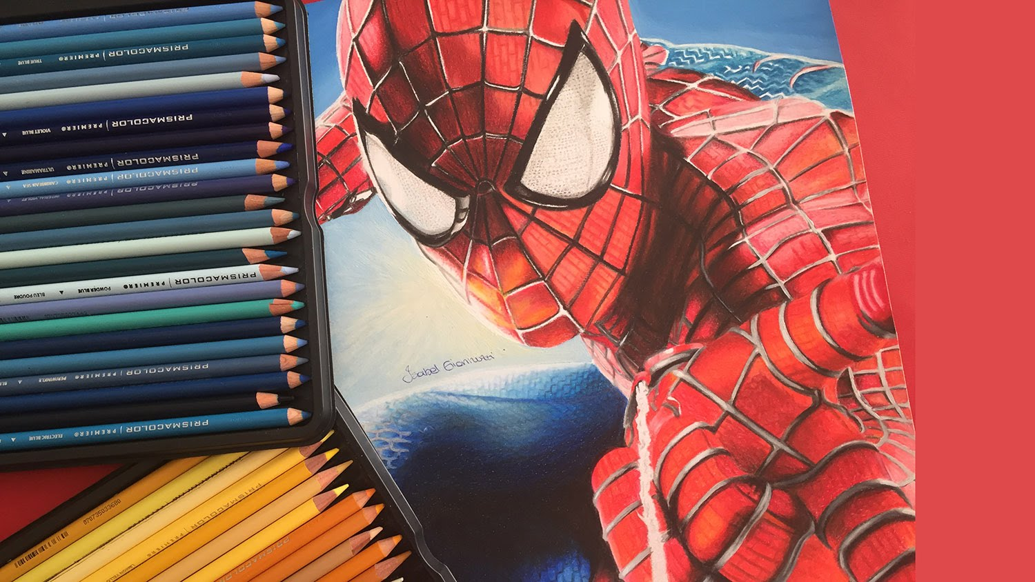 1500x844 Spiderman Drawing (Pencils For Kids)