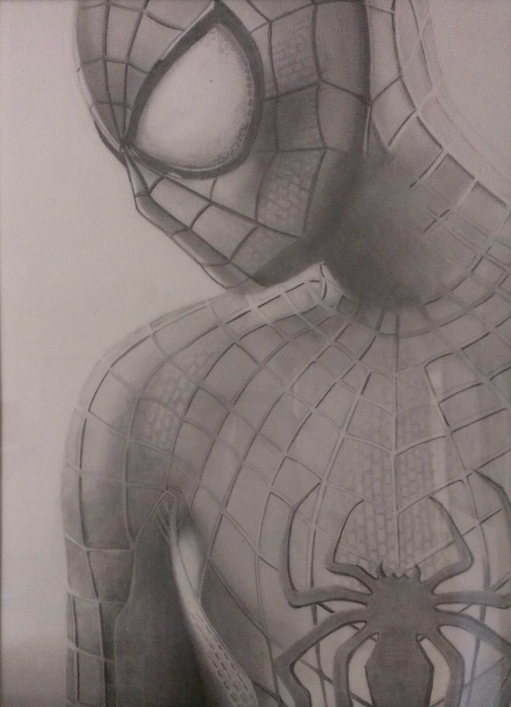 741x1024 Spiderman Pencil Drawings The Amazing Spiderman Pencil Drawing