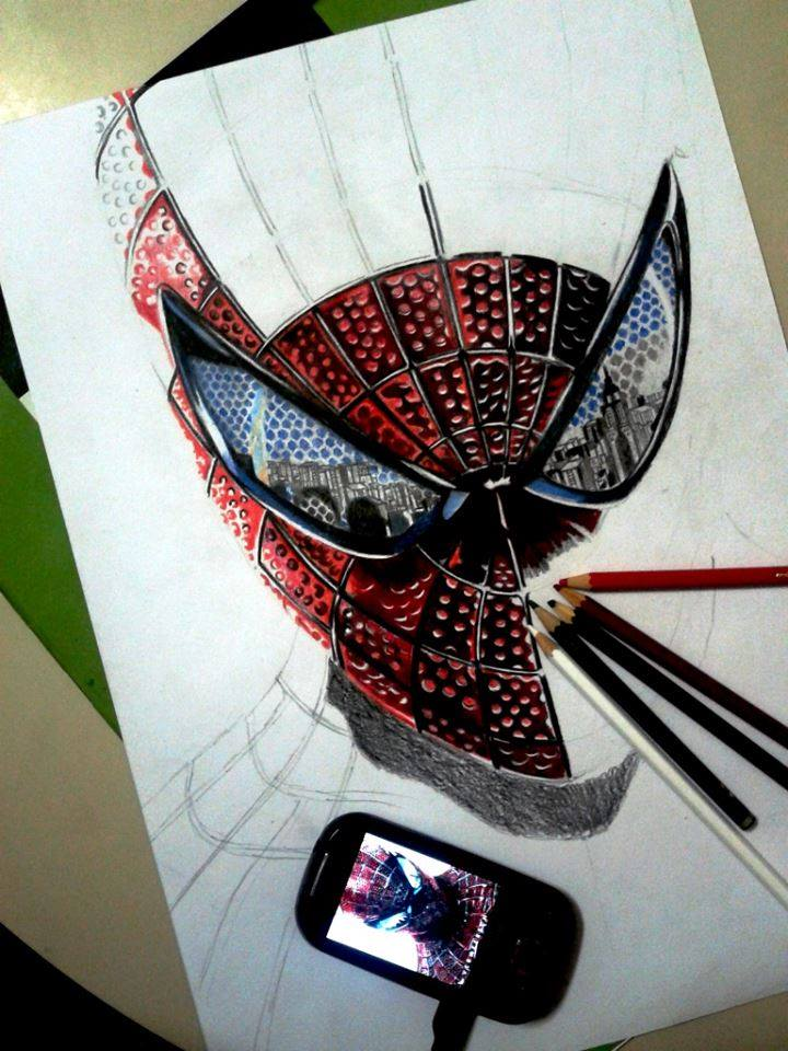 720x960 Spiderman Sharpen Your Pencil Amp Sketch Spiderman