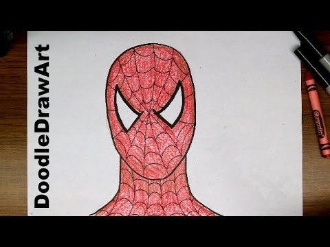 480x360 Drawing How To Draw Spider Man Step By Step