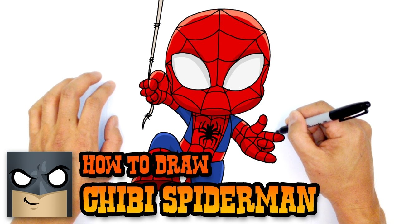 1280x720 How To Draw Spider Man Marvel Comics