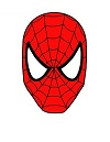 100x129 How To Draw Spider Man