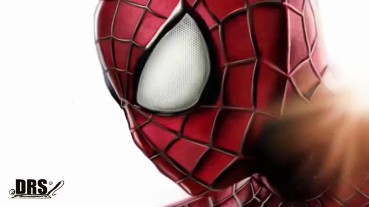 1280x720 The Amazing Spider Man 2 Drawing Spiderman Cartoon Speedpaint