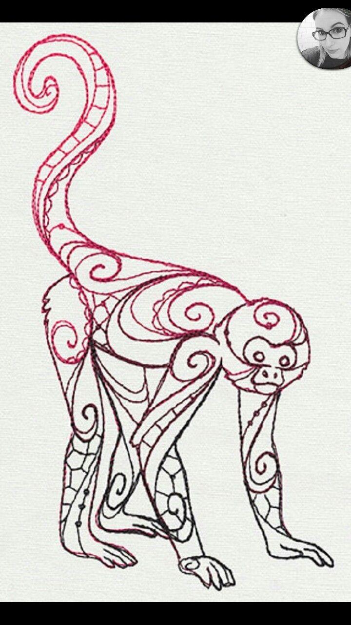 720x1280 Spidermonkey Tattoo Idea Animal Stories