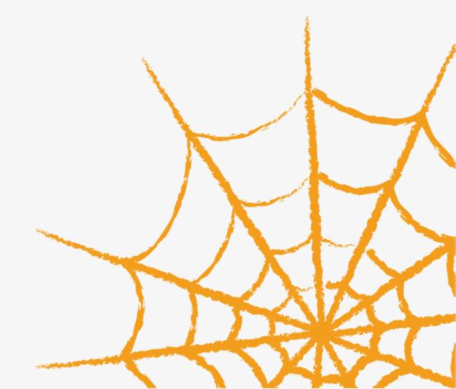 650x555 Devil Spider Web, Halloween, Evil Power, Cartoon Hand Drawing Png