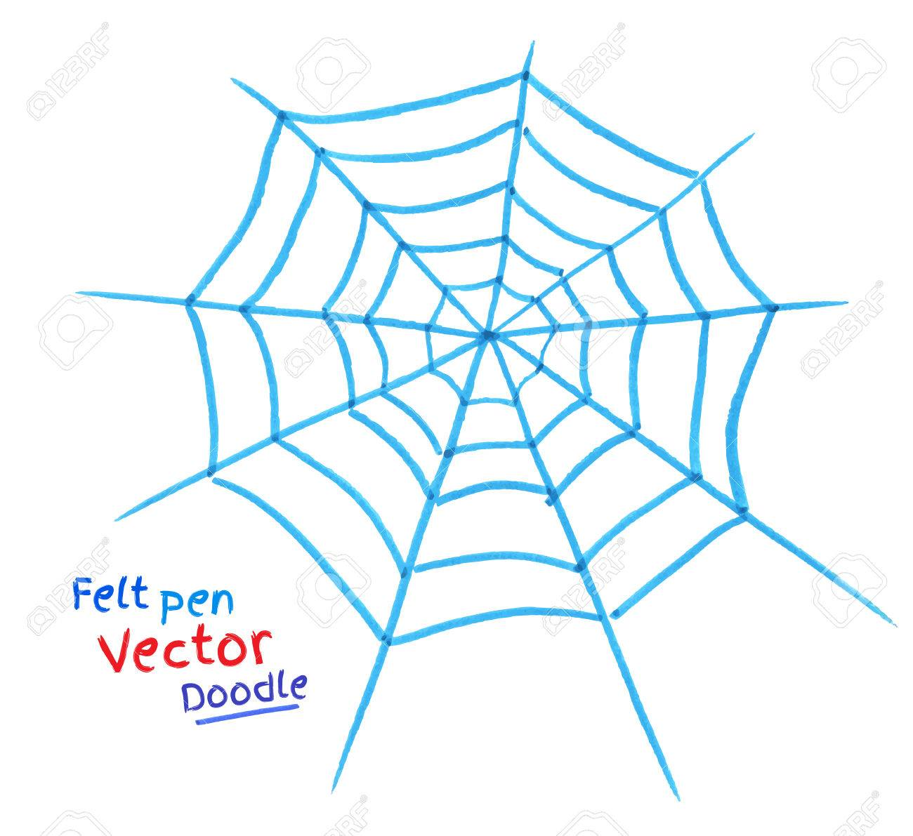 Spider Web Drawing at GetDrawings.com | Free for personal use Spider ...