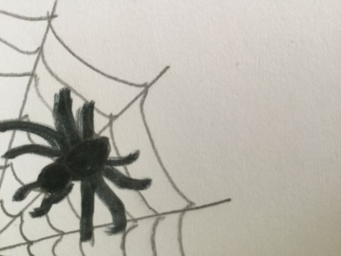 670x503 3 Ways To Draw A Spider Web