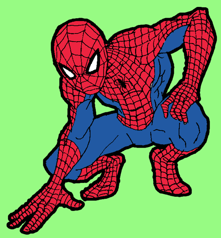 450x485 how to draw spiderman with simple steps drawing tutorial