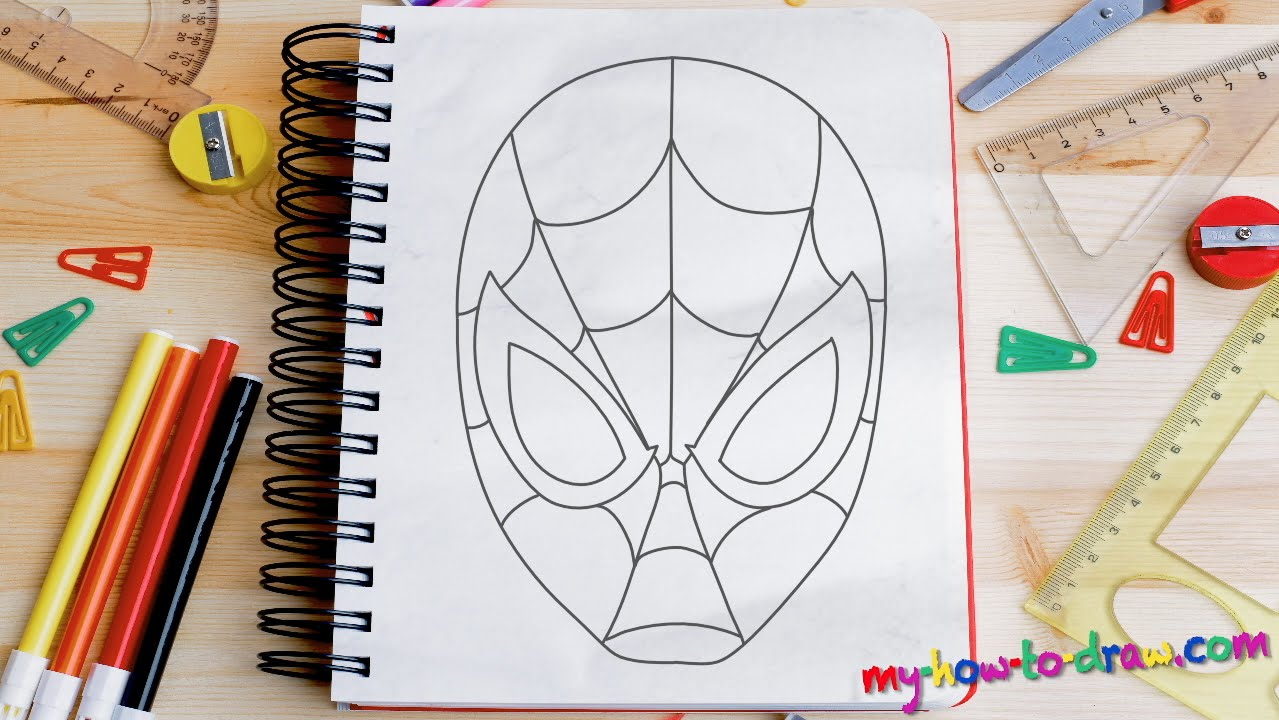 Spiderman Drawing Easy At Getdrawings Com Free For Personal Use