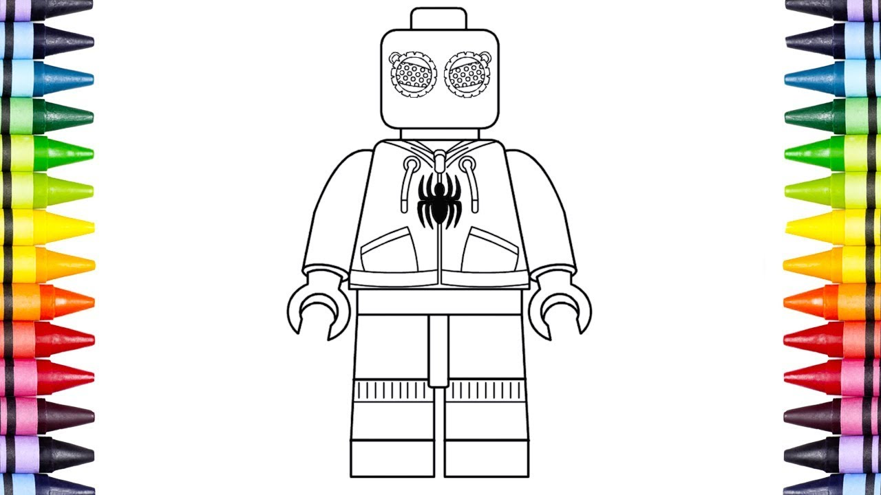 Spiderman Drawing Pages at GetDrawings | Free download