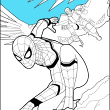 220x220 Spider Man Homecoming 1 Coloring Pages