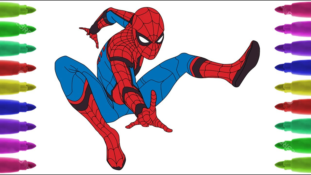 Spiderman Drawing Videos At Getdrawings Free Download
