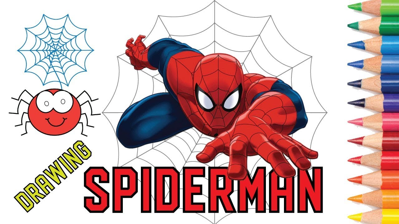 Spiderman Face Drawing At Getdrawings Com Free For Personal Use