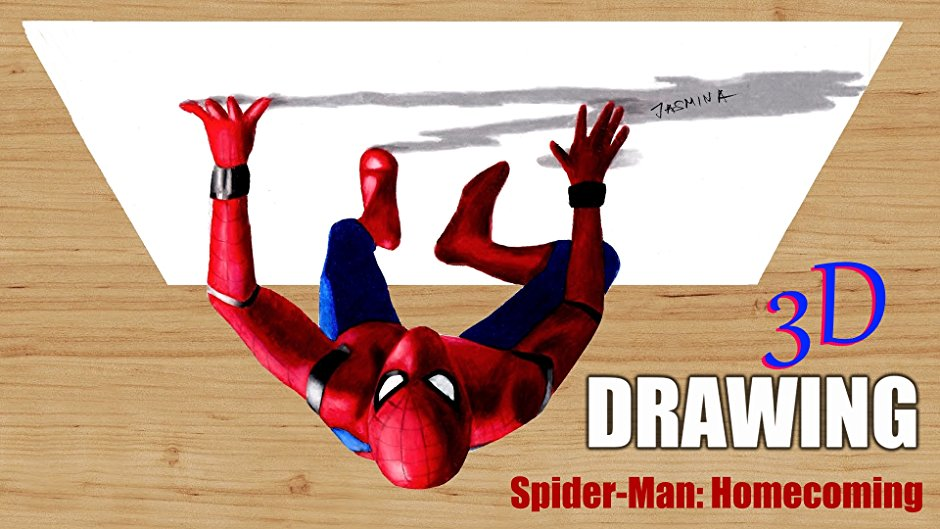 Spiderman Homecoming Drawing At Getdrawings Com Free For Personal