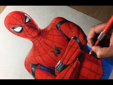 480x360 Drawing Spiderman Homecoming