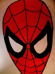 Spiderman Mask Drawing At Getdrawings Free Download