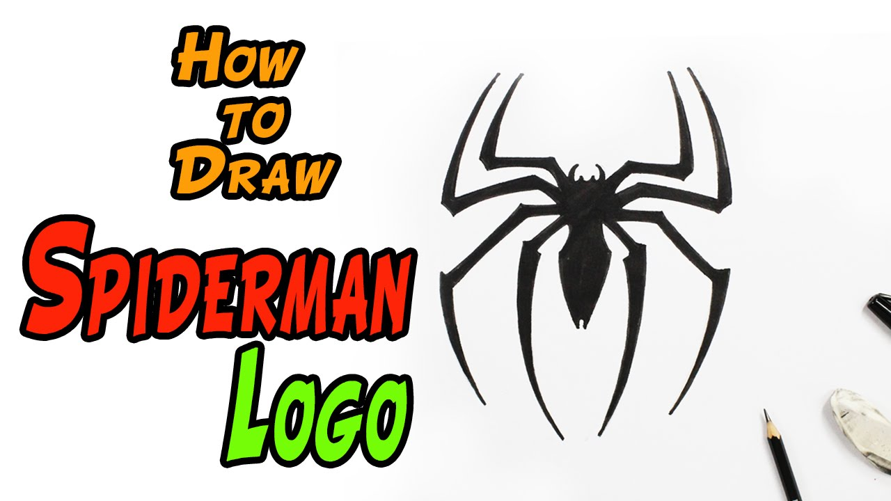 Spiderman Symbol Drawing At Getdrawings Free For Personal Use