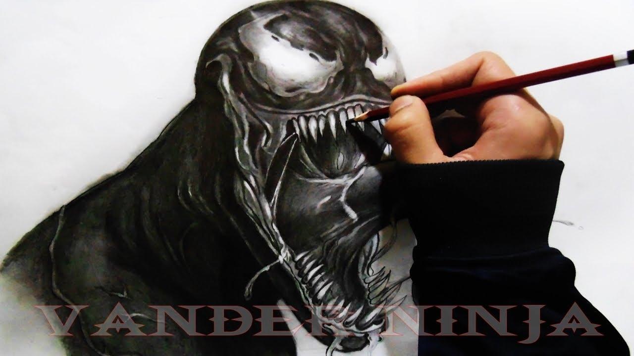 Spiderman Venom Drawing at GetDrawings