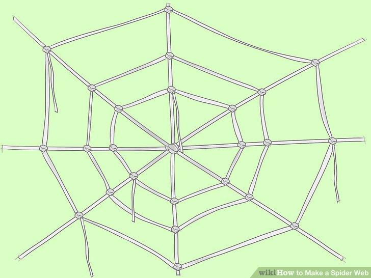 728x546 4 Ways To Make A Spider Web