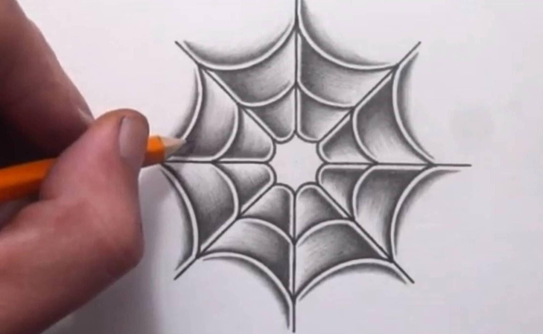 1743x1073 Spider Web Hand Tattoo Girl In Spider Web Tattoo Design Fresh