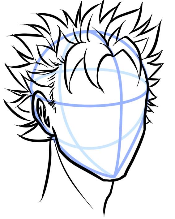 566x708 Manga Male Short Hair Art Short Hair, Manga