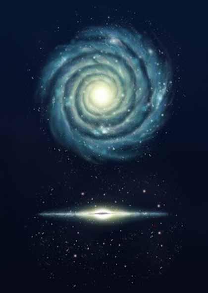 420x591 Milky Way Galaxy
