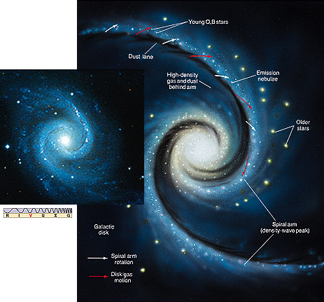 463x431 Spiral Galaxy Line Drawing