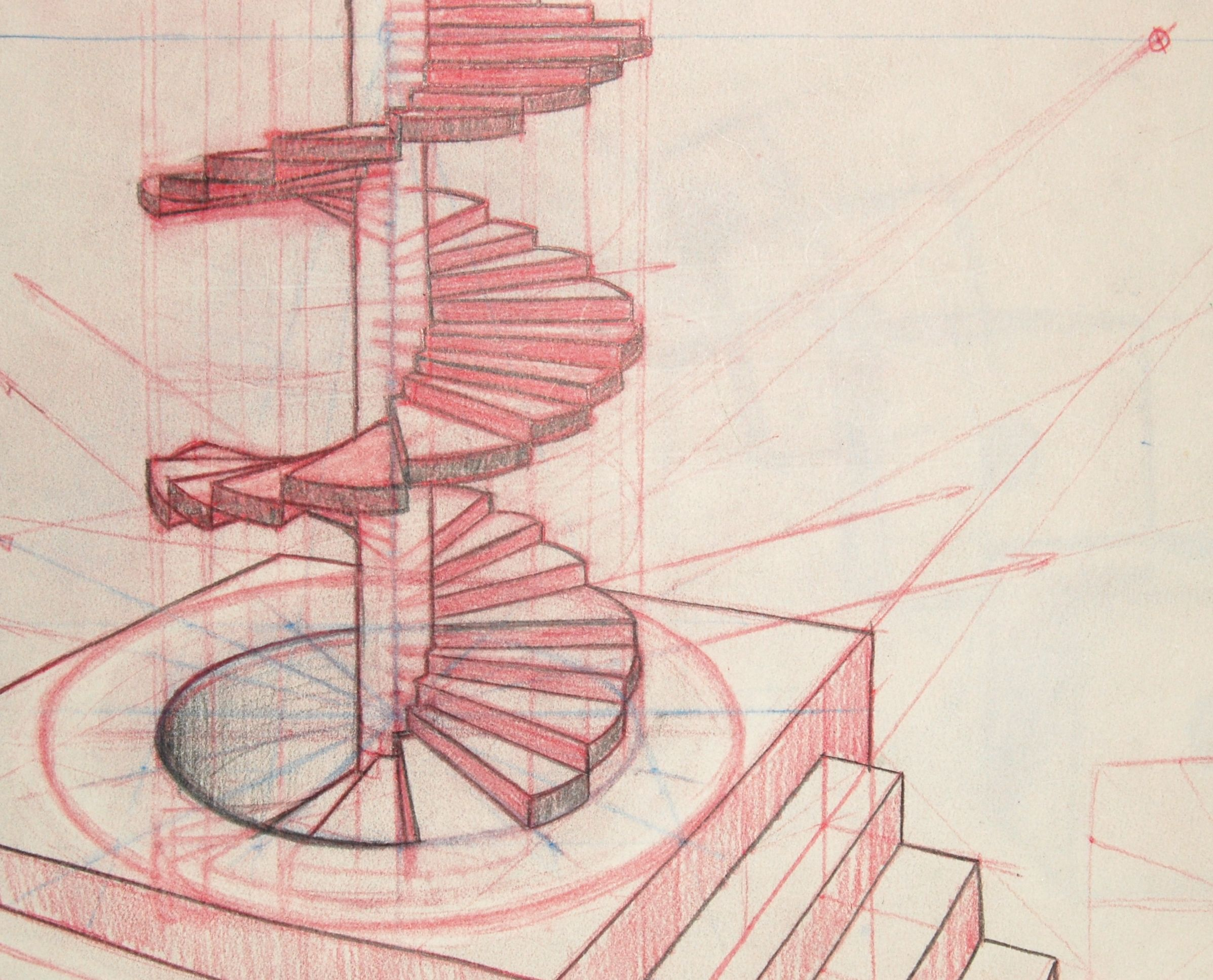 2394x1934 How To Draw A Spiral Staircase